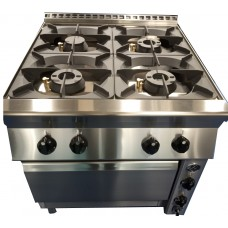 Gas cookers INOXit