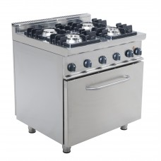 Gas stoves INOXit