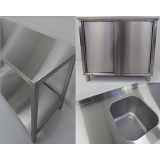 Neutral stainless steel equipment INOXit